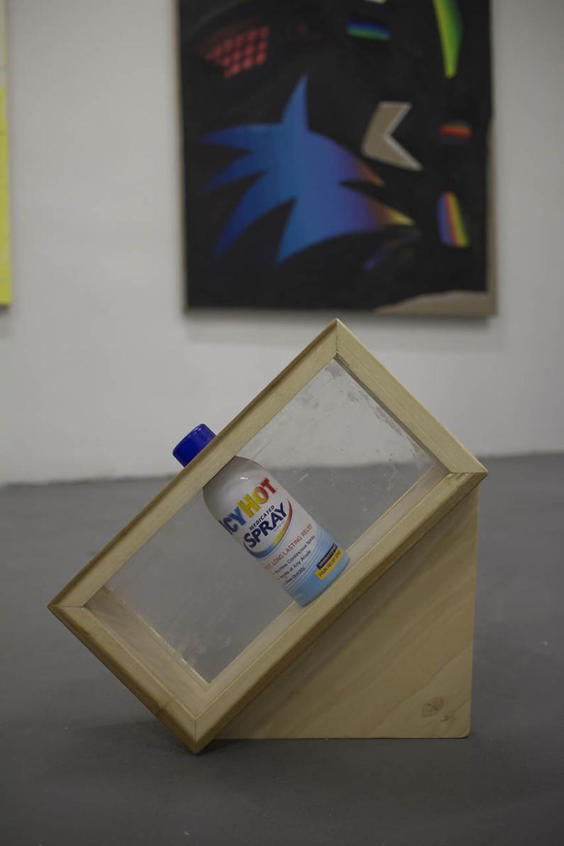 H2O, 2015 Icy Hot, Plexiglass, Poplar (8x10x3)