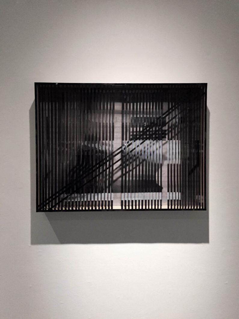 """Untitled,"" 2016 Digital print on transparency, mdf"